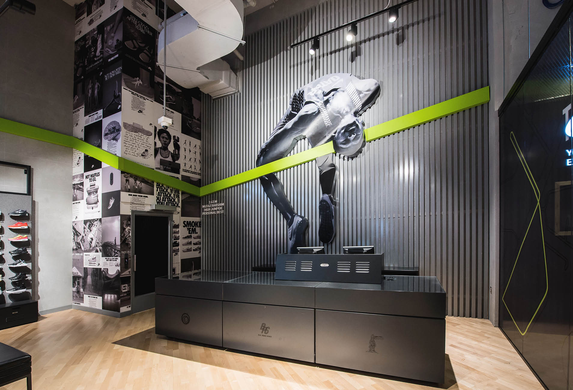 Studio and Space - Mall of Qatar, Nike